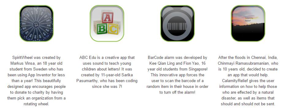 App Inventor Apps
