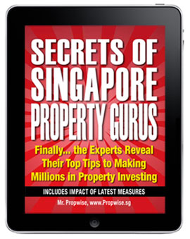 Secrets of Singapore Property Gurus on the ipad